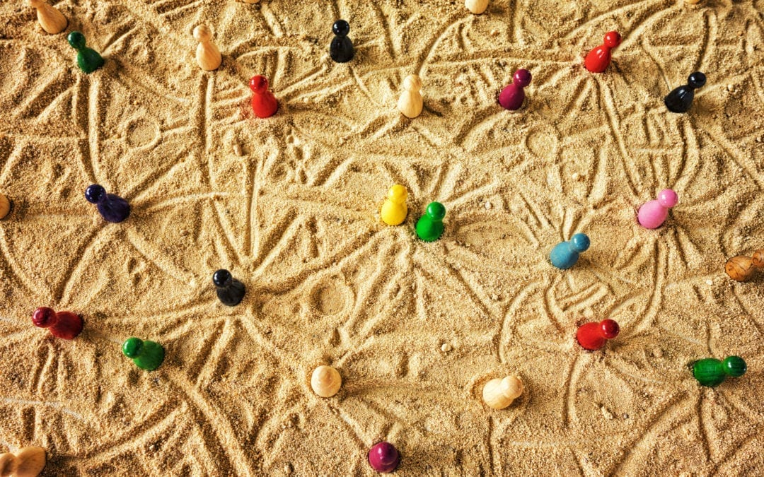 Networks, Wet Sand, and Organizational Change